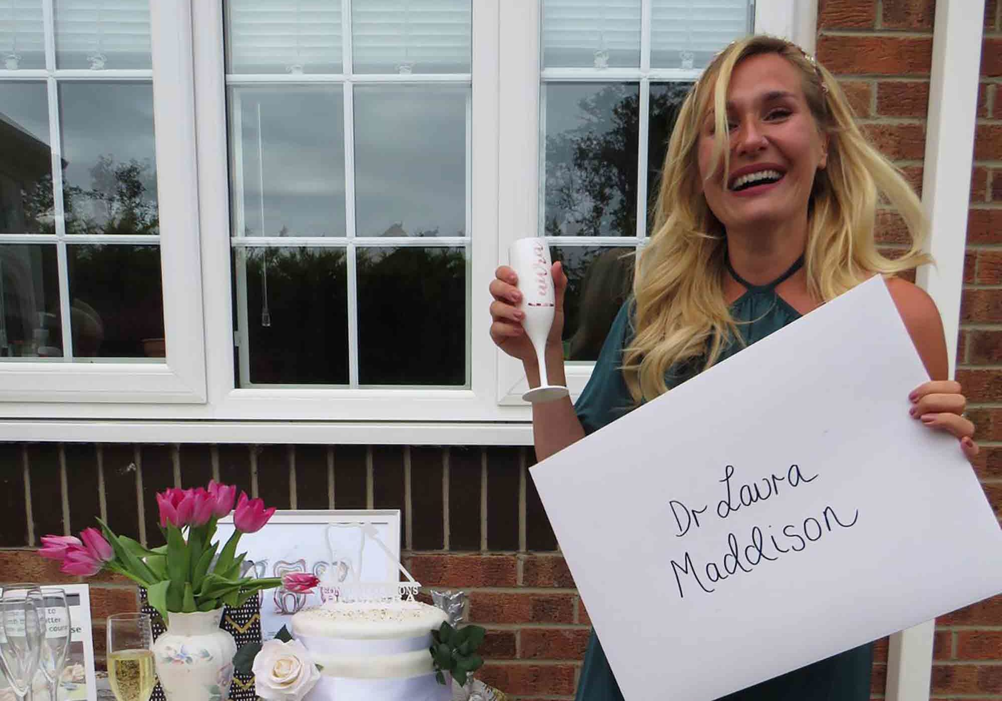 Laura Maddison talks to Dentistry Online about her journey from dental nurse to dentist
