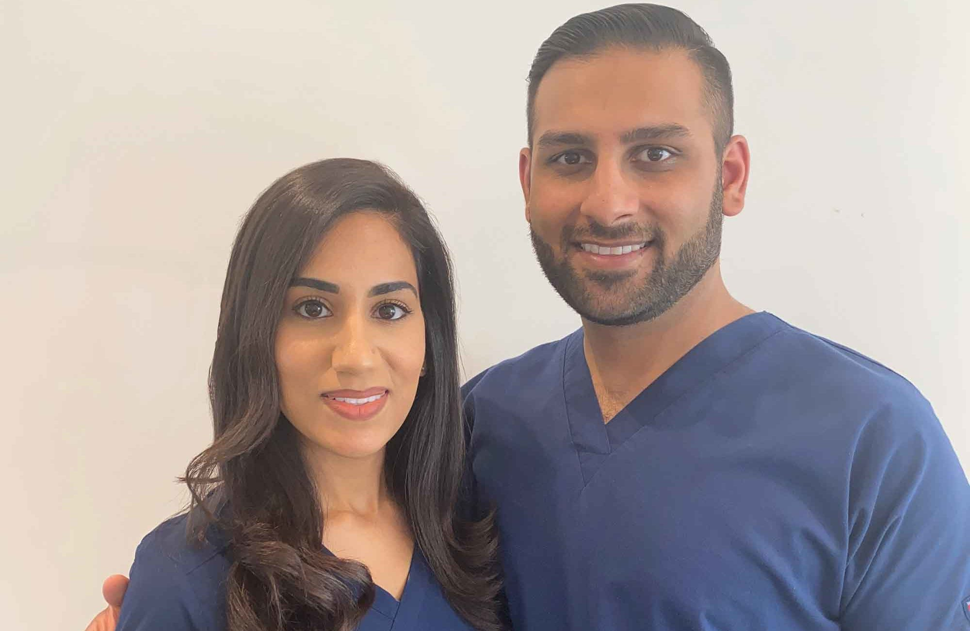 Dr Raj and Dr Kiran Juneja the dentistry power couple