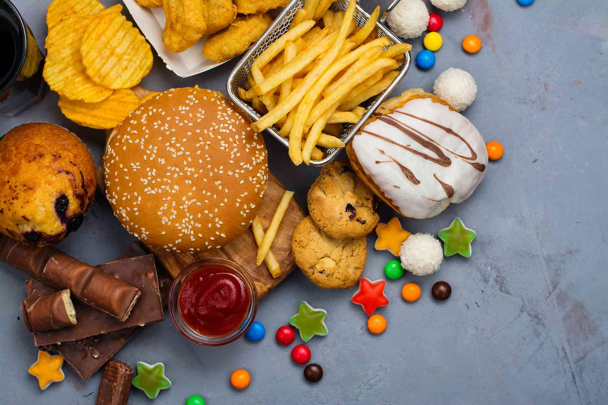 Parents are calling for a stop to children's characters on unhealthy food and drinks, a survey has revealed