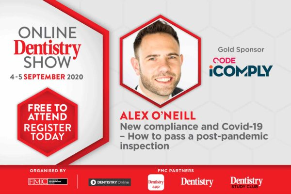 Coming this September, the Online Dentistry Show is putting on the very first virtual exhibition in UK dentistry with support from gold sponsors, CODE