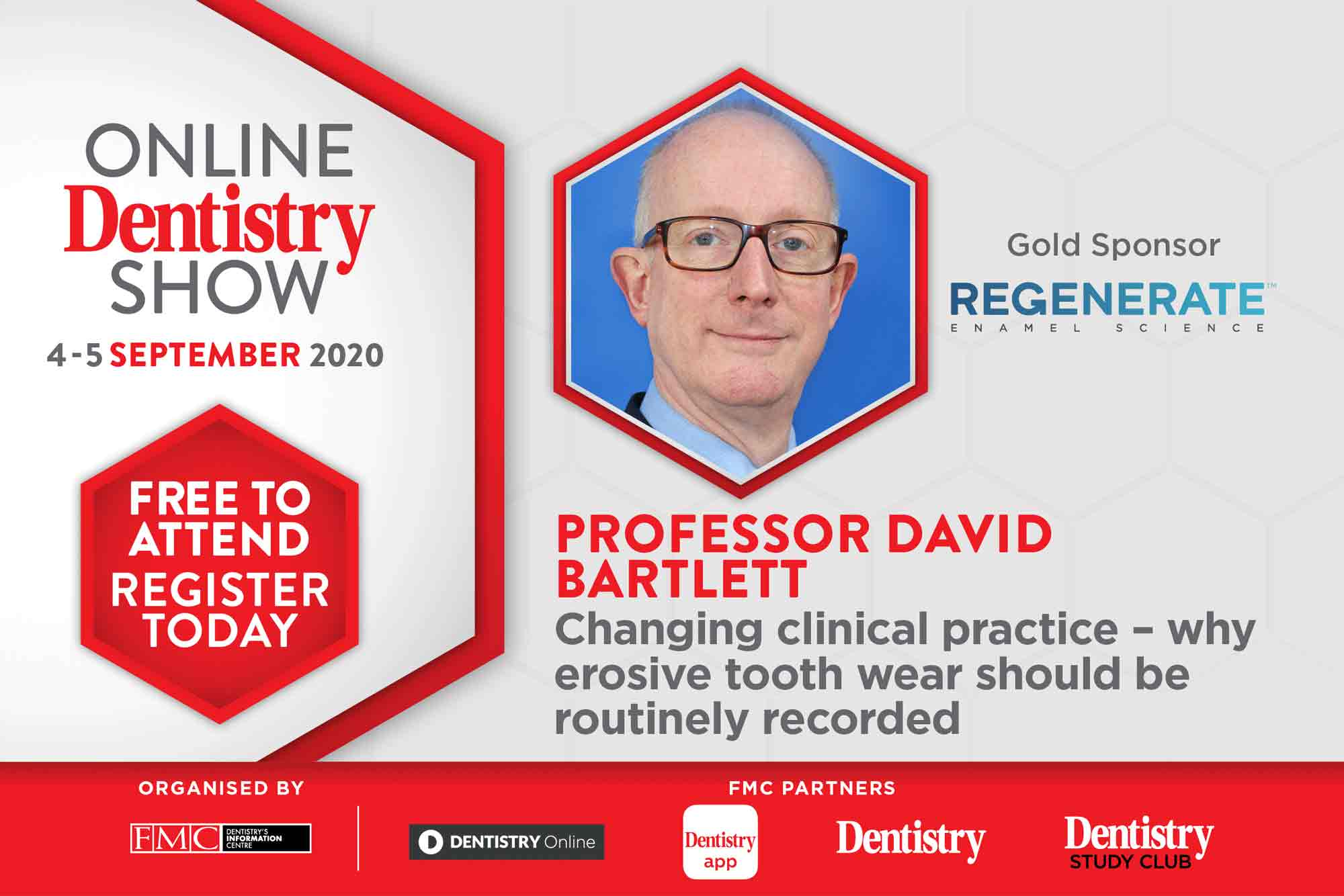 Coming this September, the Online Dentistry Show is putting on the very first virtual exhibition in UK dentistry with support from gold sponsors, Regenerate