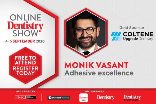 Monik Vasant for Coltene at the Online Dentistry Show