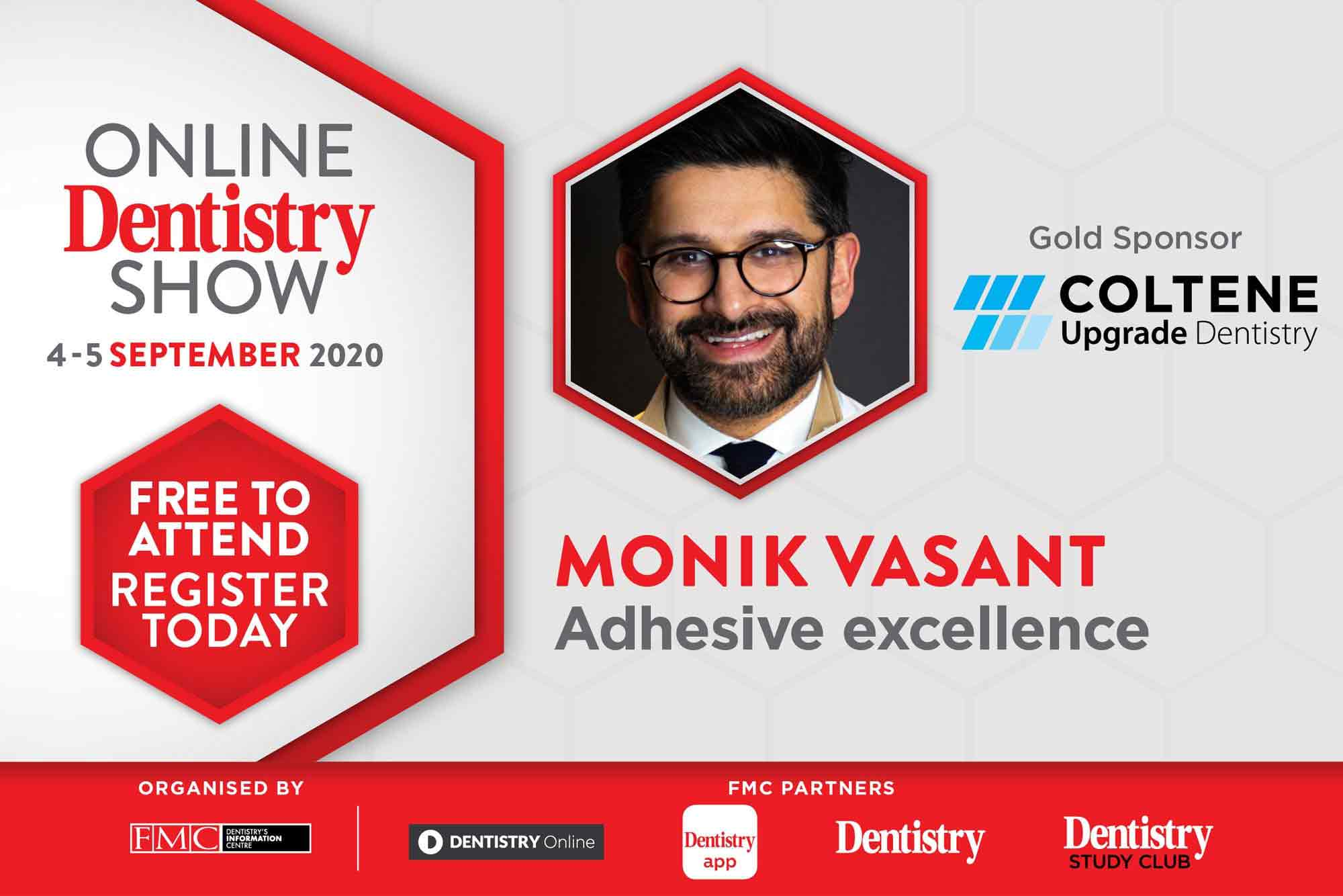 Monik Vasant for Coltene at the Online Dentistry Show