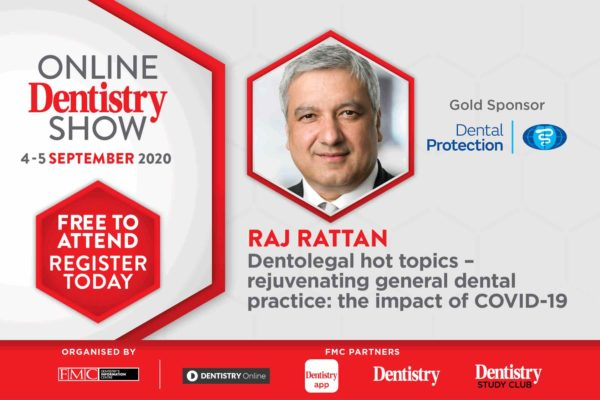 Coming this September, the Online Dentistry Show is putting on the very first virtual exhibition in UK dentistry with support from gold sponsors, Dental Protection
