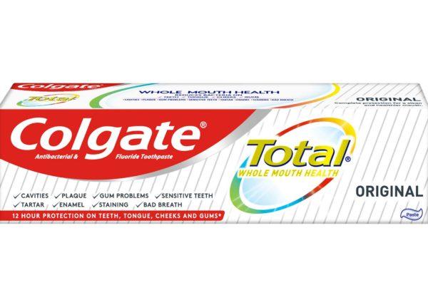 colgate total offering biofilm control