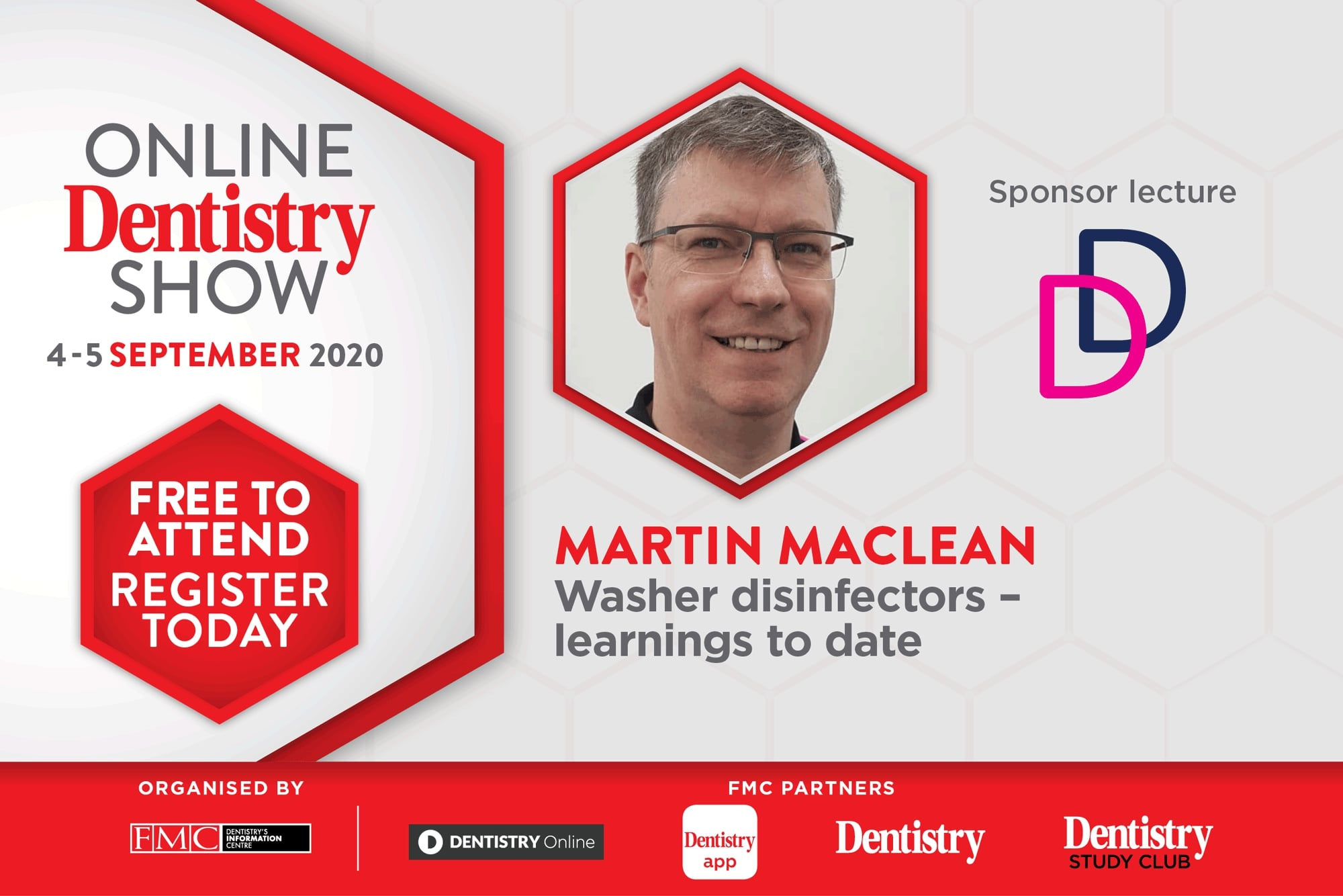 Martin MacLean will speak at the Online Dentistry Show
