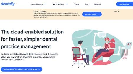 new dentally website