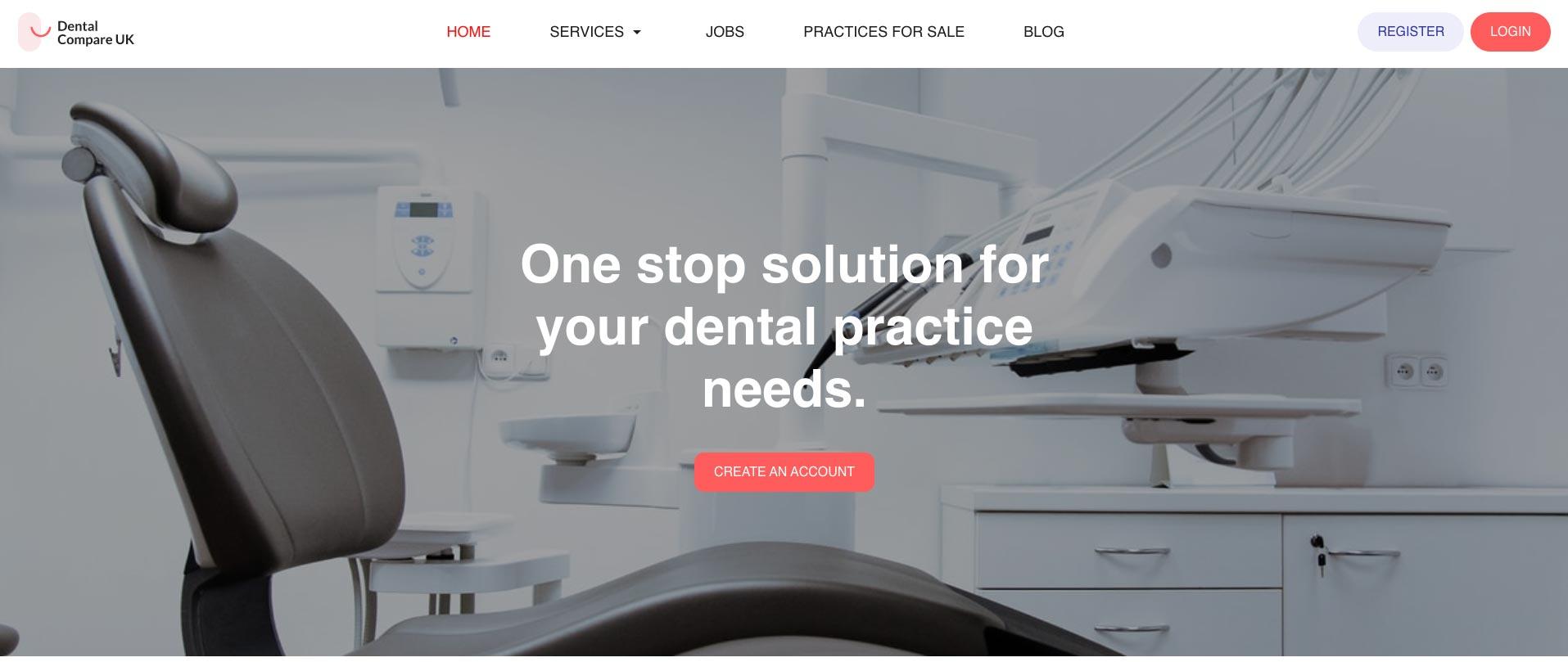 Dental Compare website