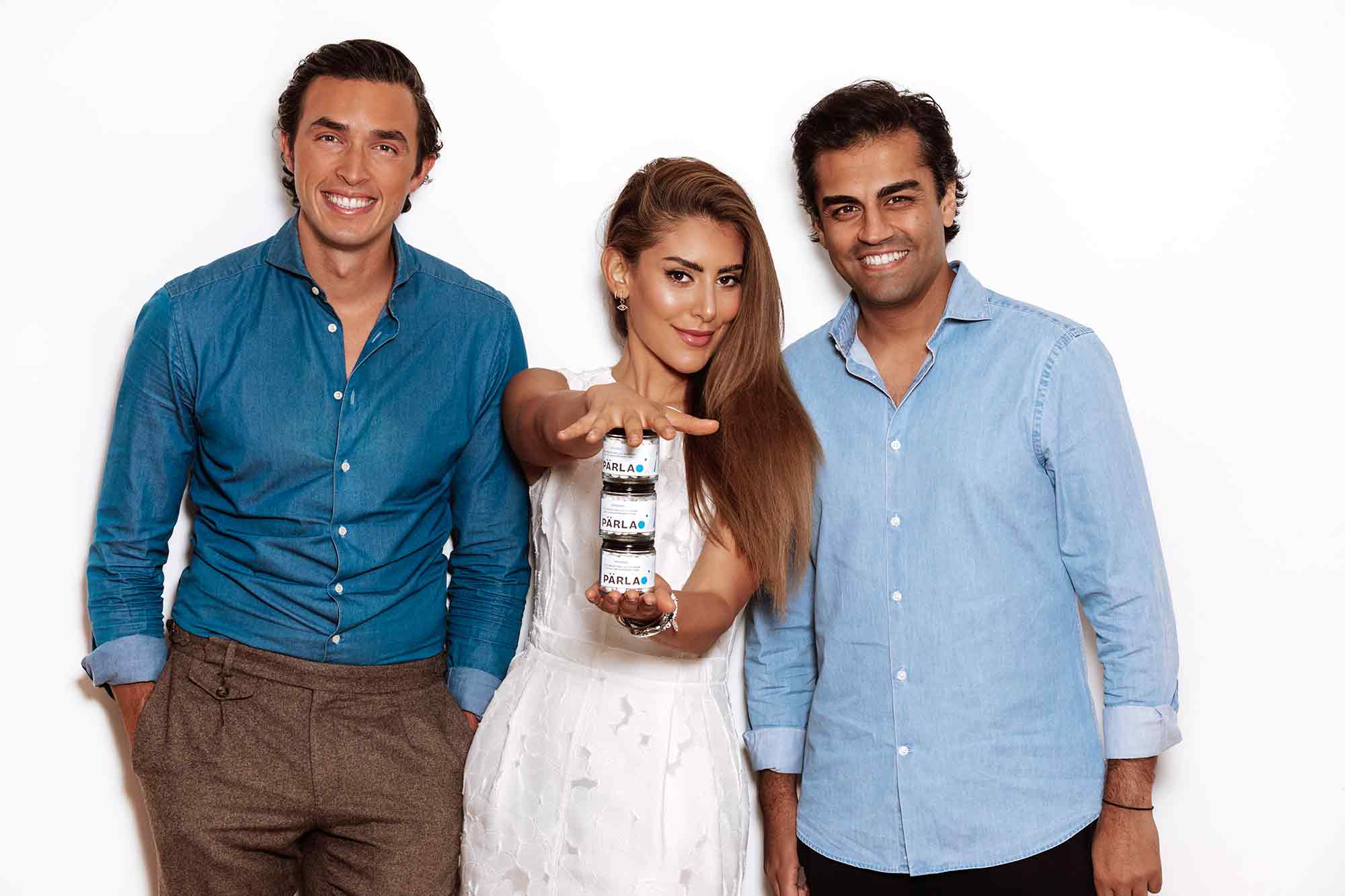 Dr Simon Chard, Dr Rhona Eskander and Dr Adarsh Thanki have created an eco-friendly solution to the plastic crisis of toothpaste tubes – Pärla