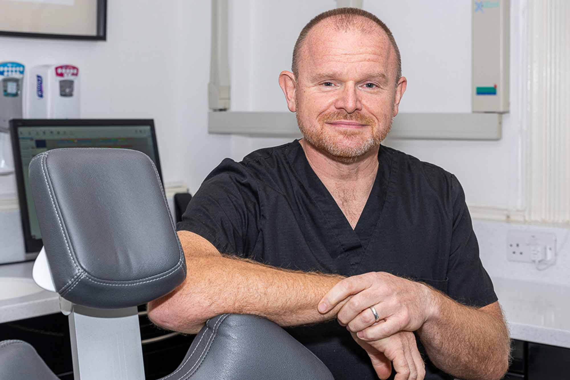Simon Fieldhouse, principal of Dutch Barton Dental Practice