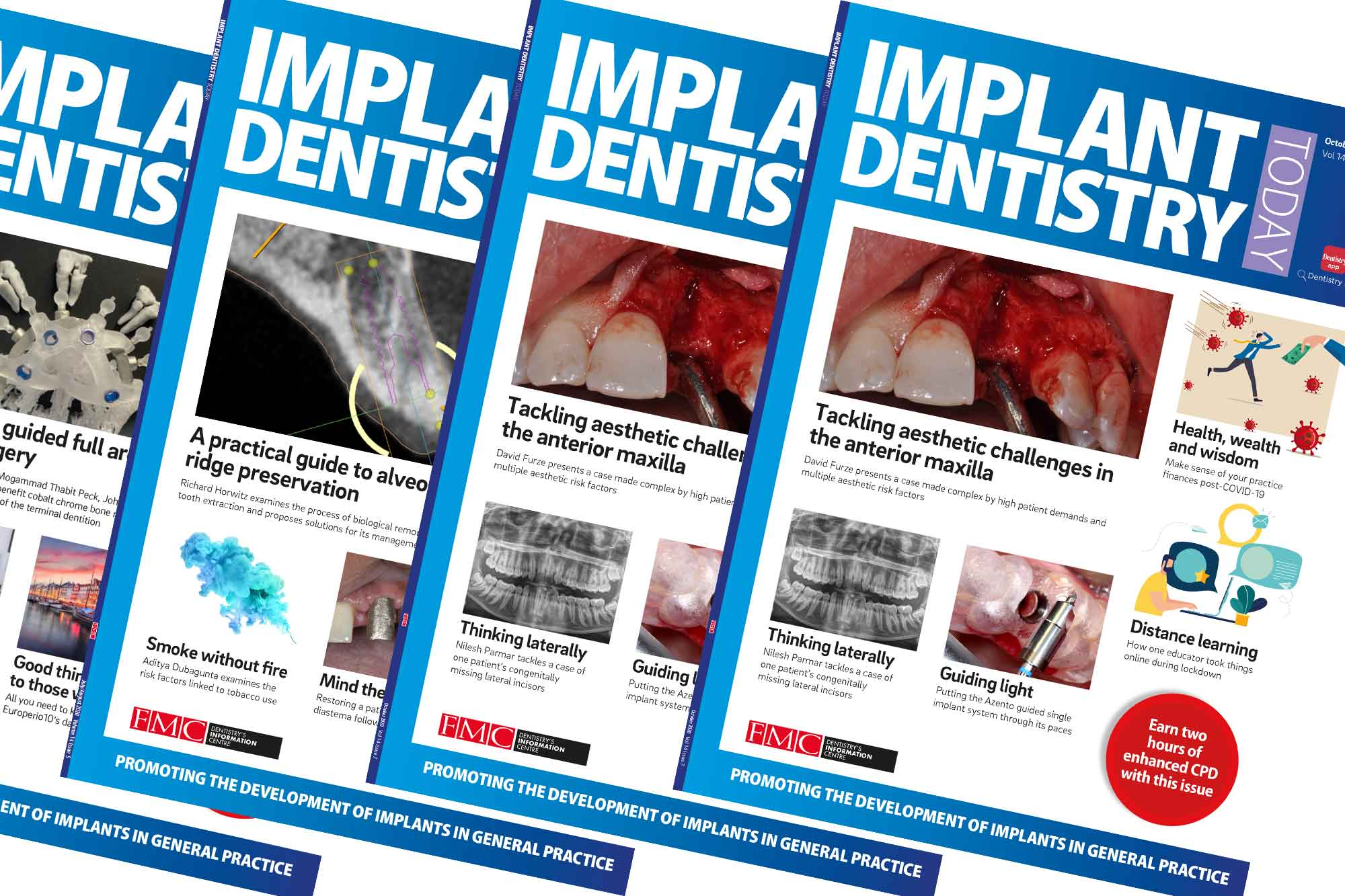 The FMC journal Implant Dentistry Today is joining the digital revolution next month as it adopts a new format for a new year
