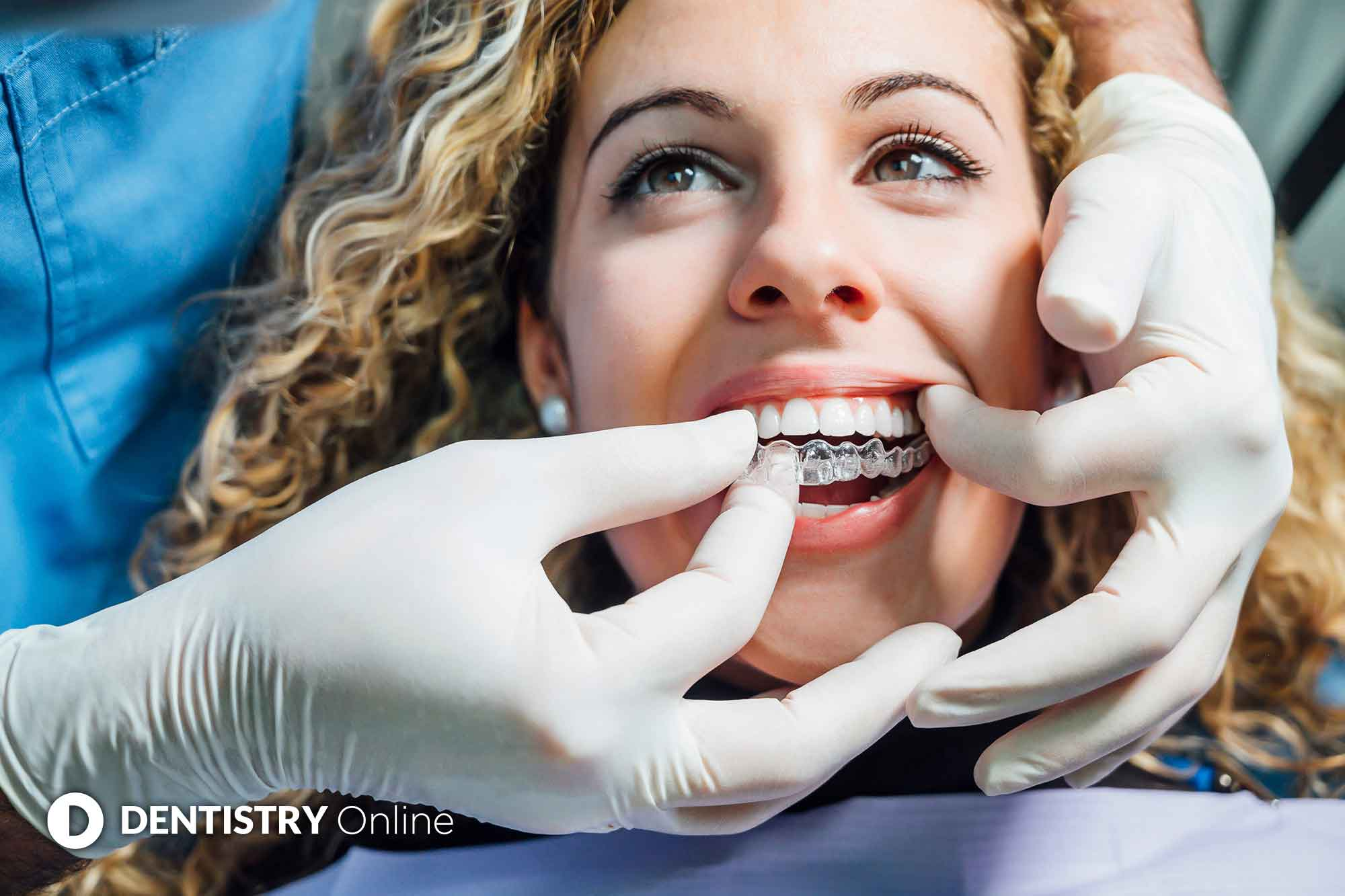 patient getting Invisalign treatment