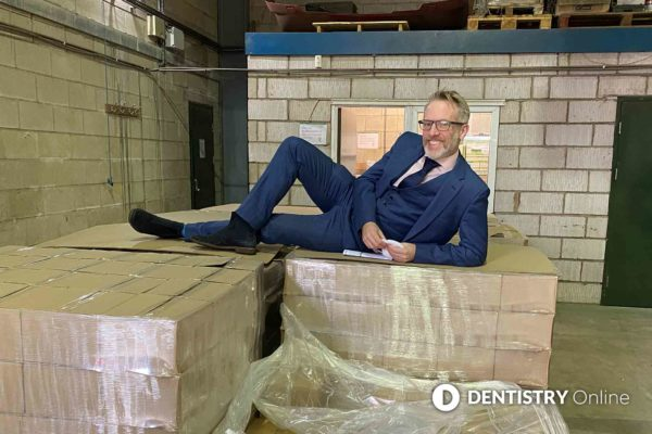 More than 100,000 tubes of toothpaste donated to vulnerable communities