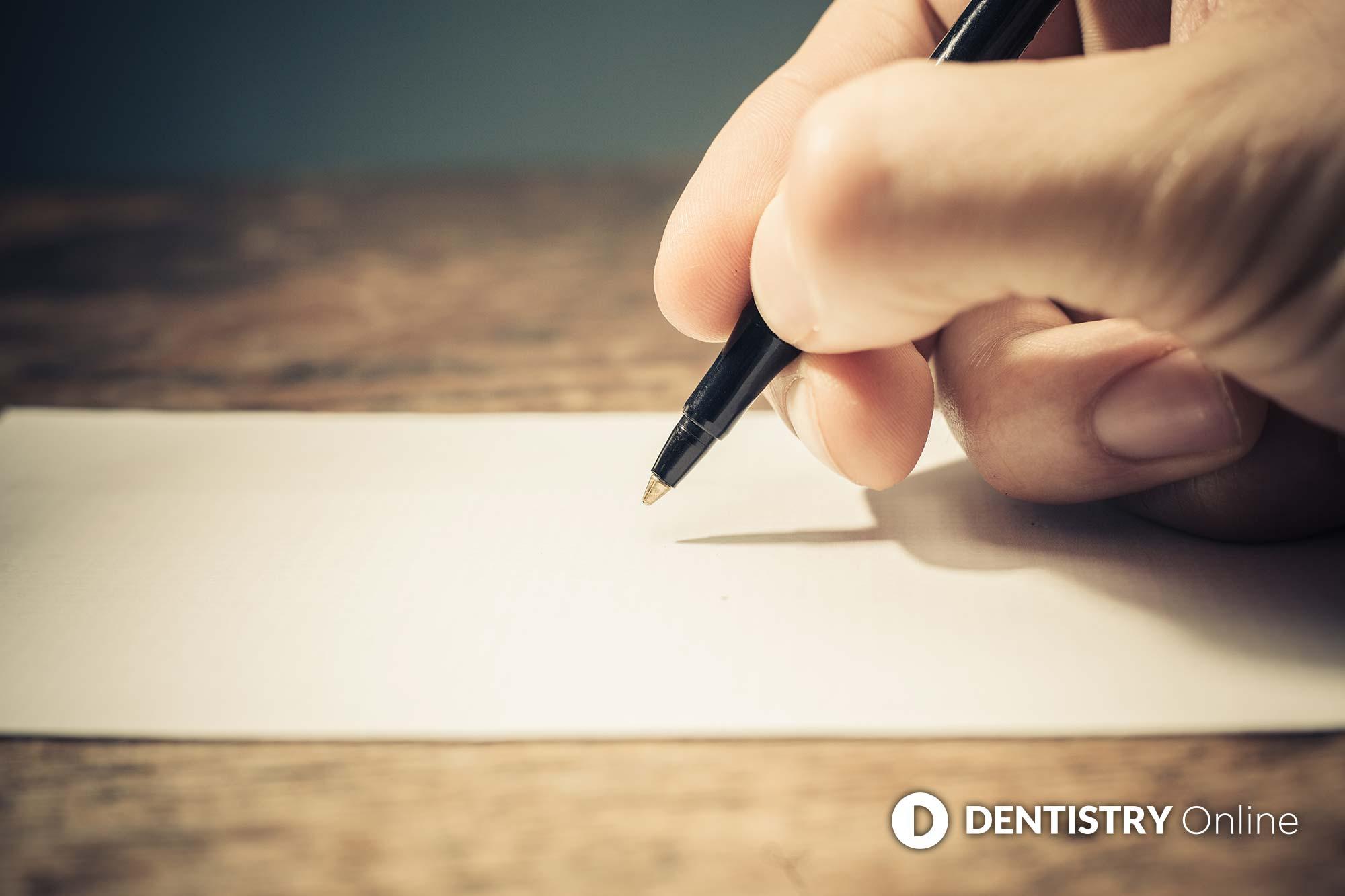 NHS dentistry letter