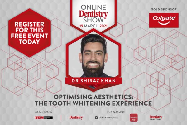 Shiraz Khan at the Online Dentistry Show