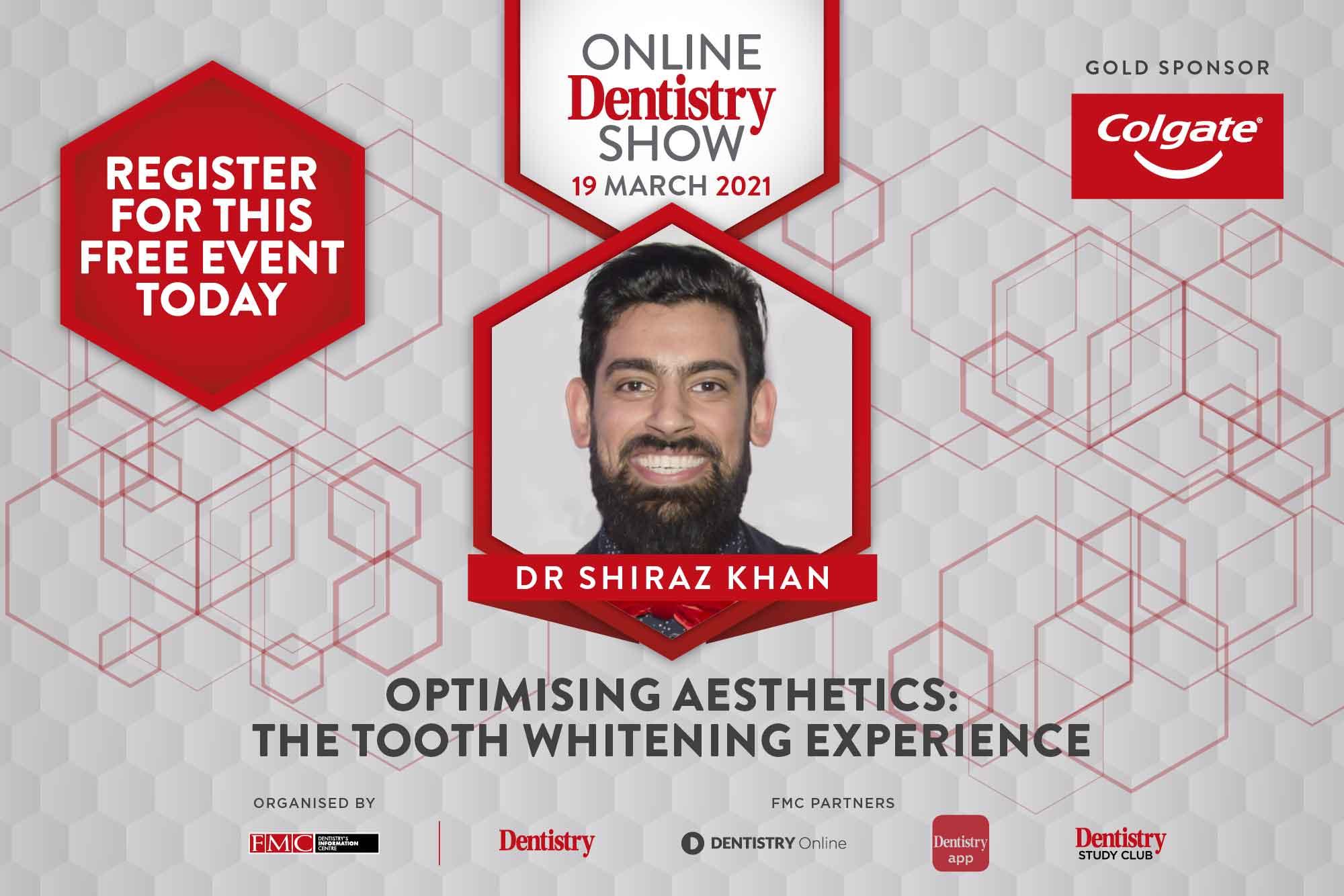 Shiraz Khan at the Online Dentistry Show
