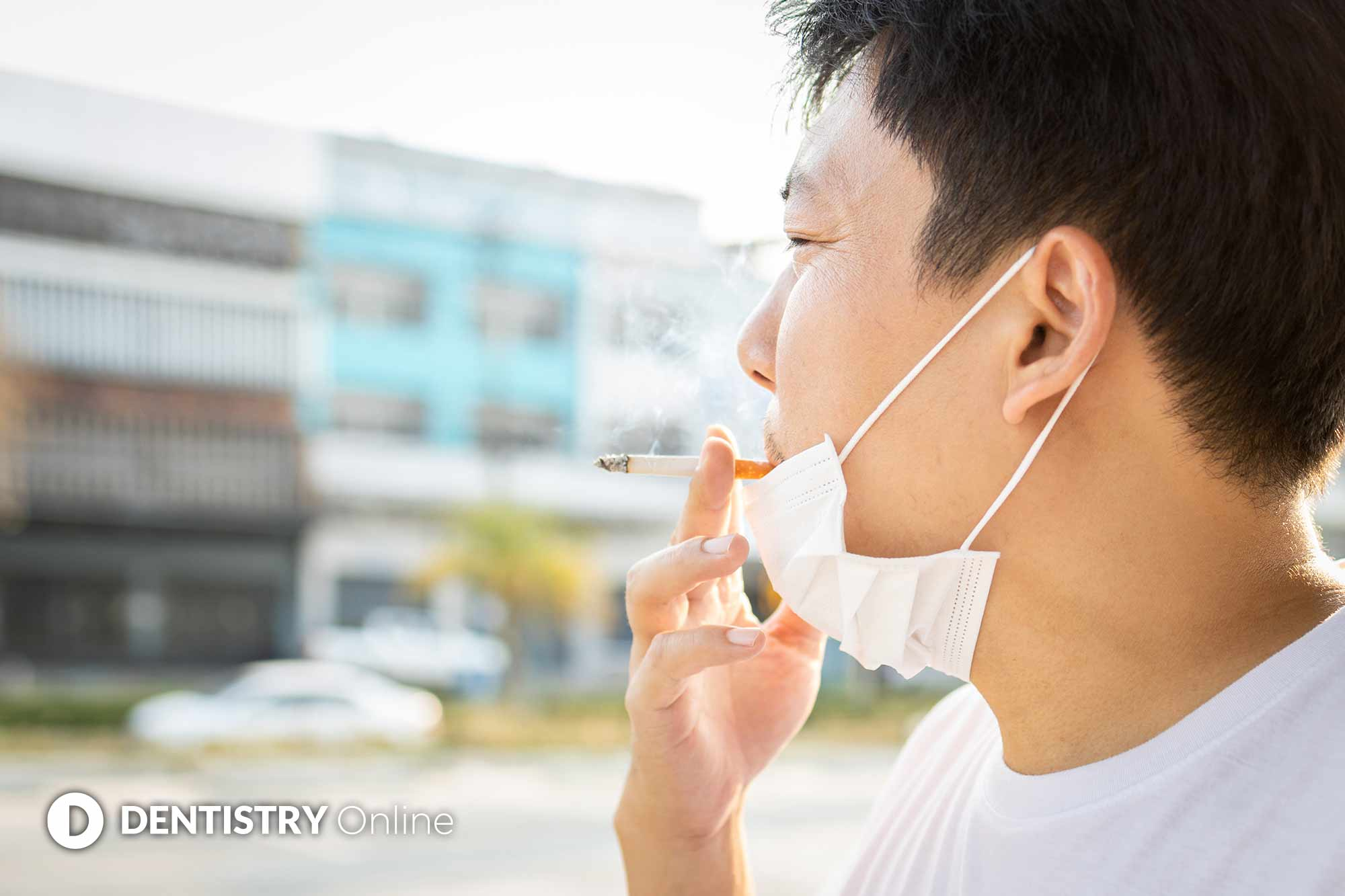 Smokers who test positive for COVID-19 are more than twice as likely to be hospitalised for the virus