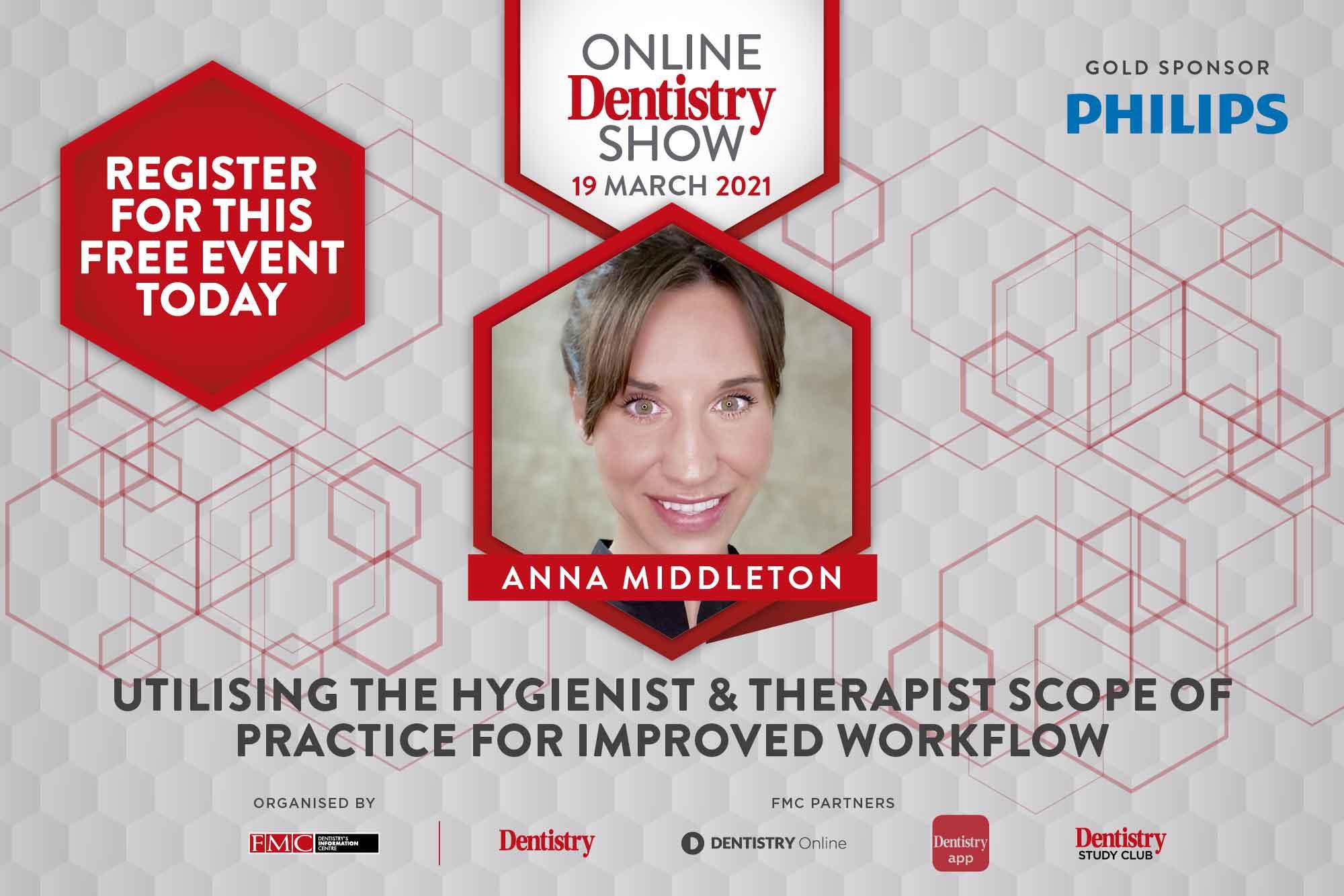 Online Dentistry Show Anna Middleton