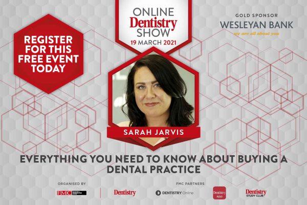 Online Dentistry Show Sarah Jarvis