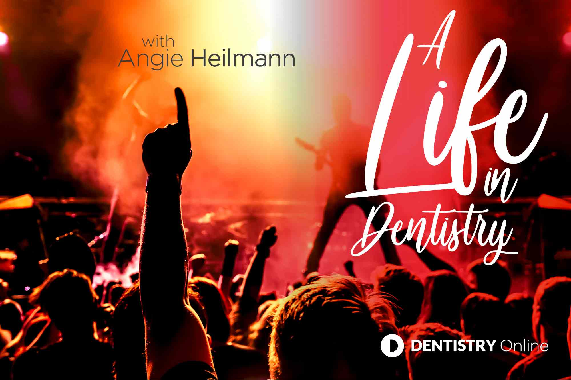 Angie Heilmann talks about her journey into dental nursing, touring with bands and falling down the stairs before receiving her MBE