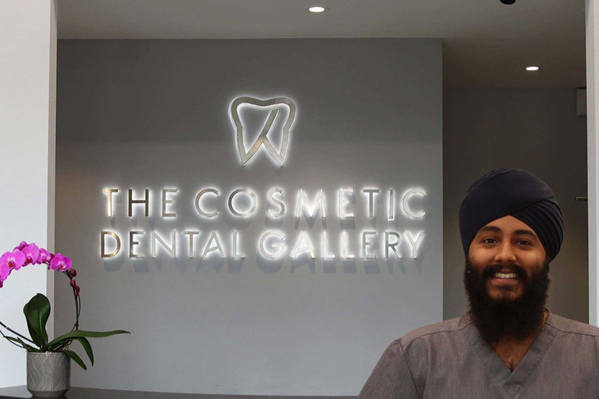 the cosmetic dental gallery hartej