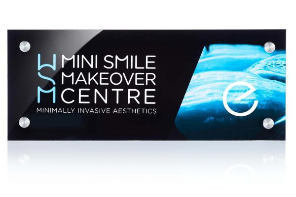 Mini Smile Makeover plaque