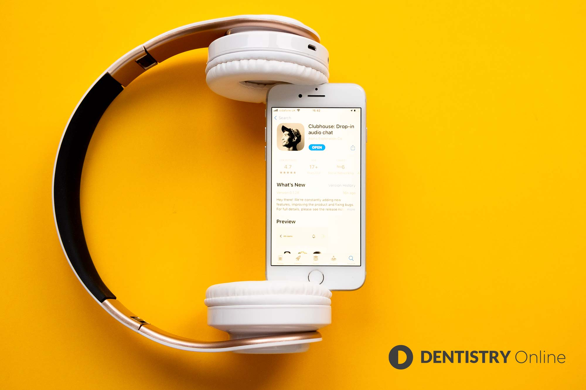 Andy Acton talks about the fast-growing app Clubhouse and why it's making an impression within business and dentistry