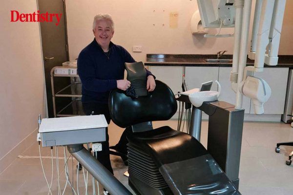 A dental clinician is auctioning his entire dental clinic and its contents in a bid to raise money for charity