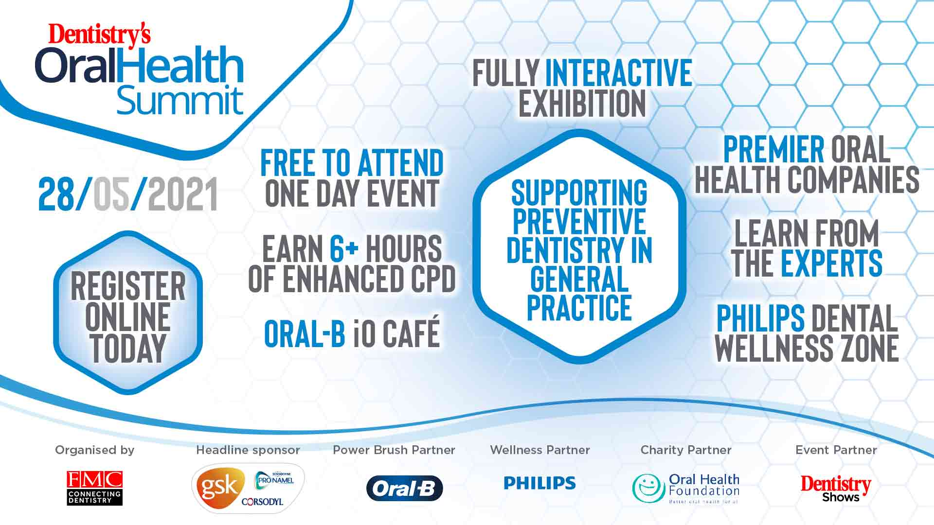 Oral Health Summit – free one-day event on preventive dentistry