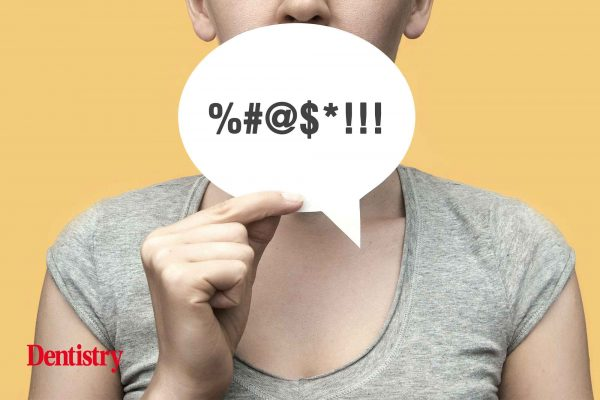 swearing patient