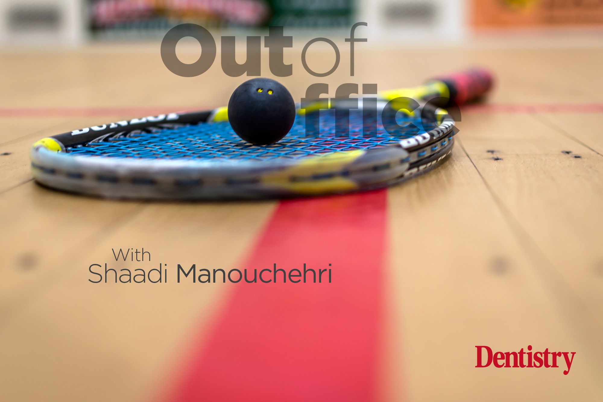 Shaadi Manouchehri talks about her love for grilled edamame beans and playing squash at an international level.