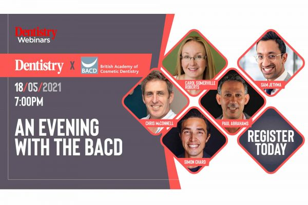 The British Academy of Cosmetic Dentistry (BACD) is pleased to deliver a series of talks from key dental experts
