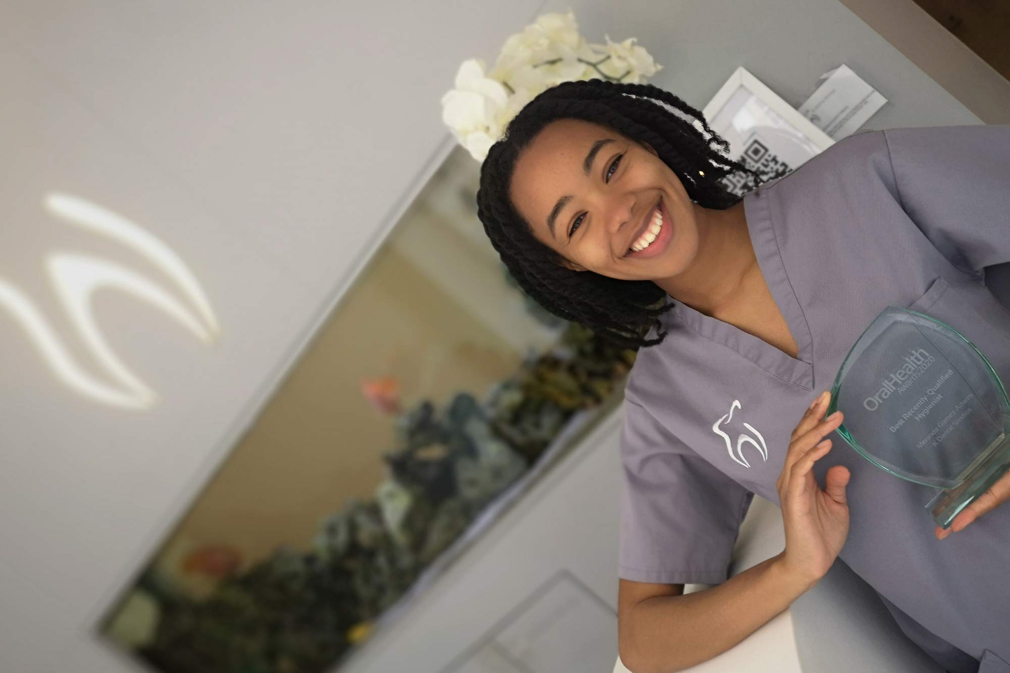 Meranda Gomez-Adams discusses what it was like taking home the Best Recently Qualified Hygienist accolade at the Oral Health Awards