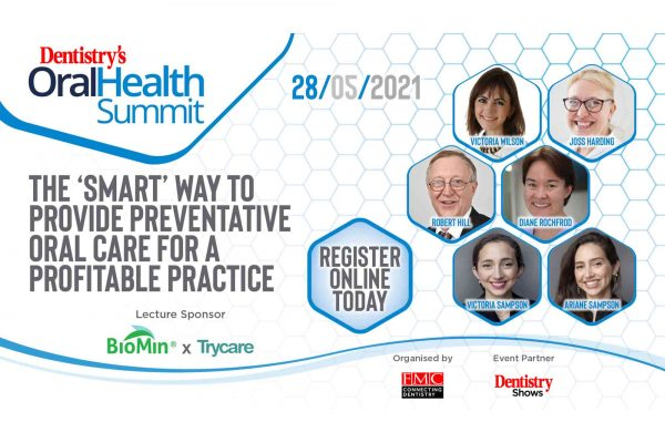 Sign up for the first ever Oral Health summit to listen to a talk on how to provide preventative care for a profitable practice