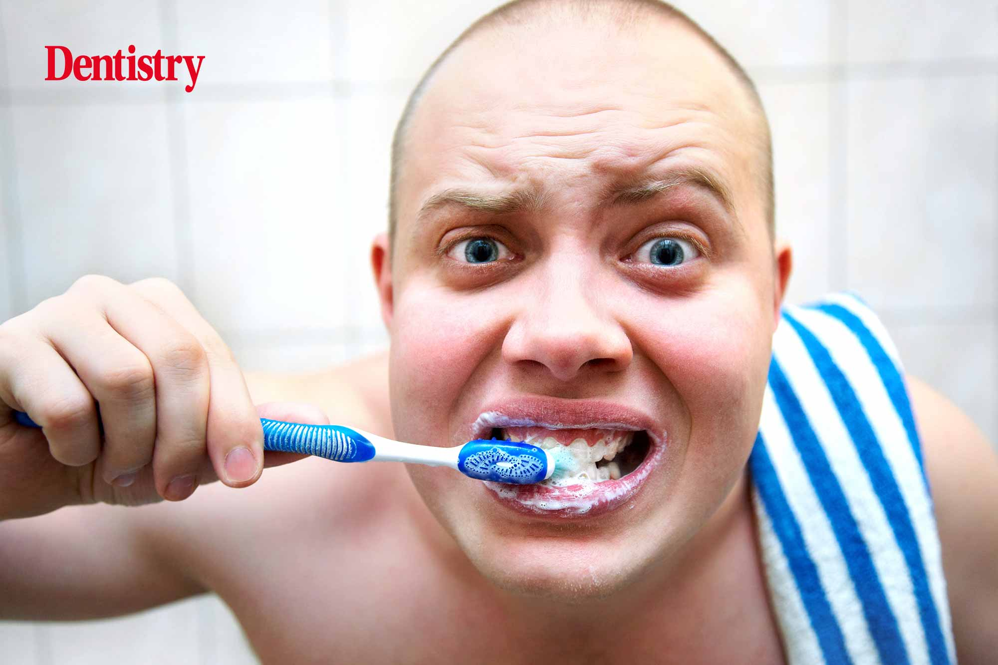 Nearly one quarter of UK adults only clean their teeth once a day
