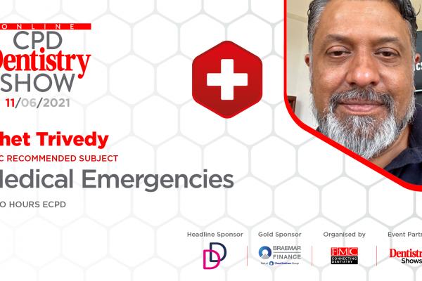 Online CPD Dentistry Show – medical emergencies