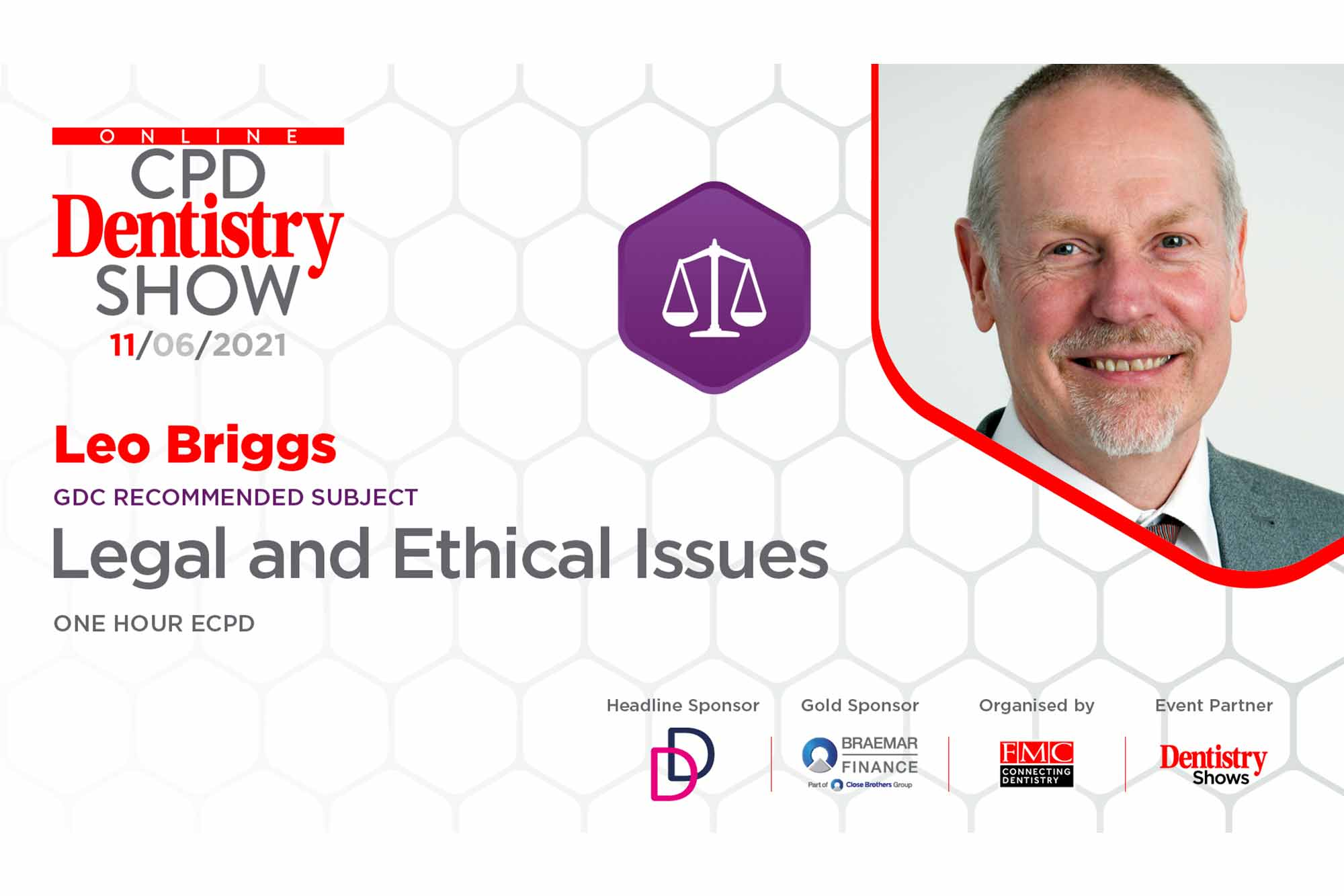 Online CPD Dentistry Show – Leo Briggs on legal and ethical issues