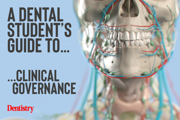 A dental student's guide to…clinical governance