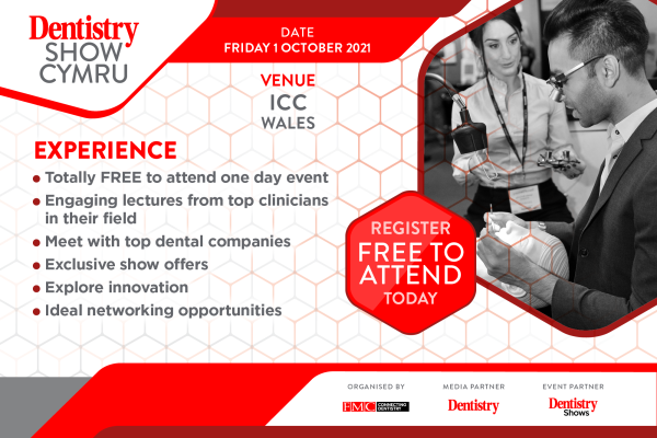 Welsh Dentistry Show – catch a whole host of leading speakers