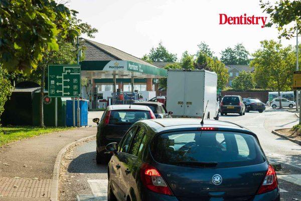 NHS workers petrol shortage