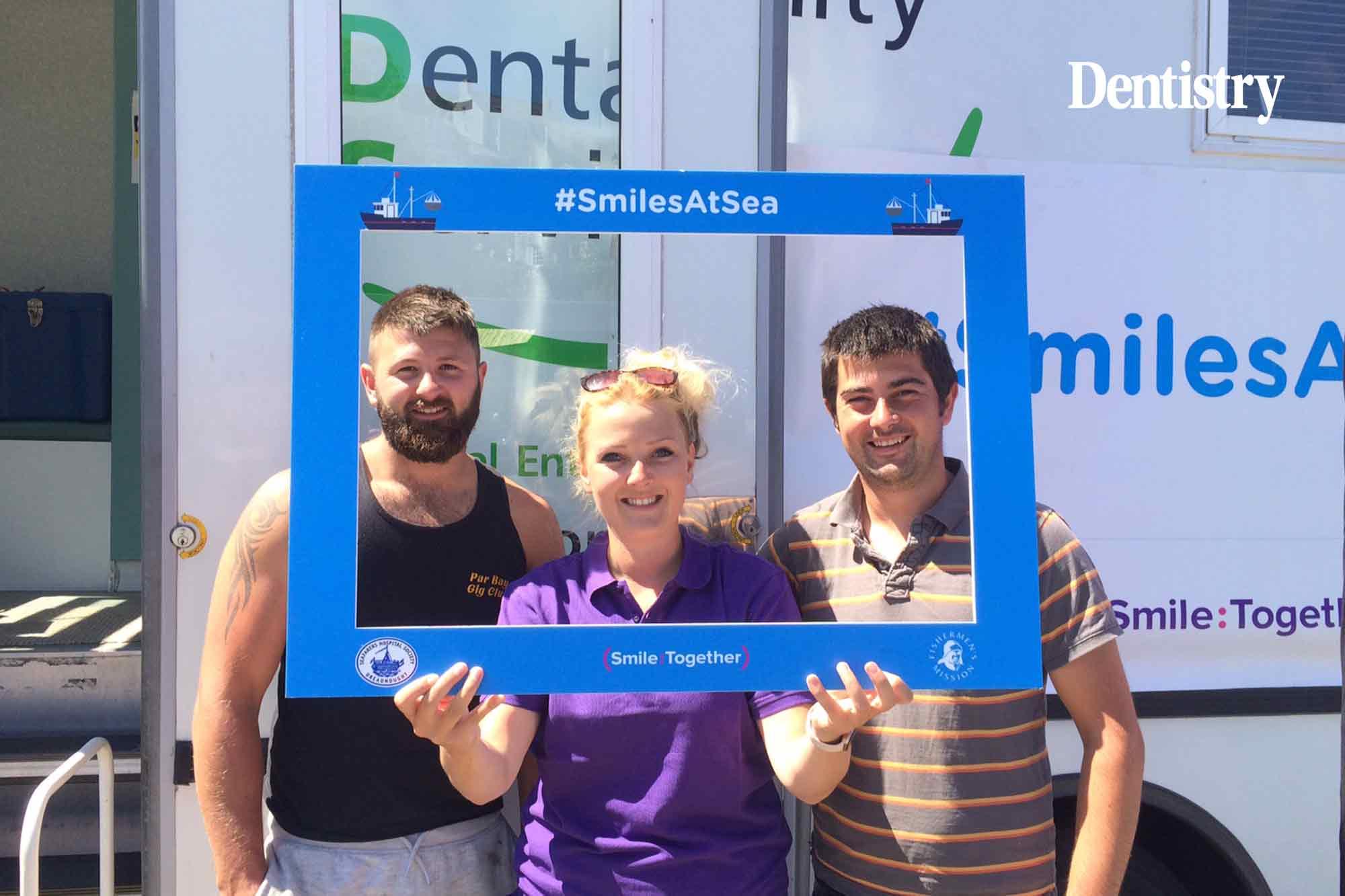 Smiles at Sea – free dental checks offered to fisherfolk