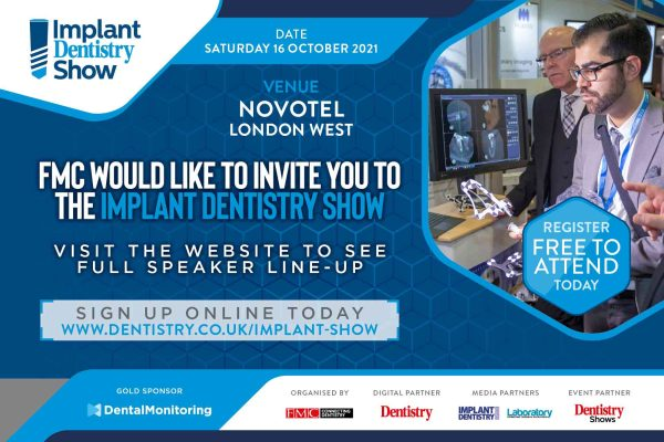 Implant Dentistry Show – the UK's biggest dedicated implant event this year